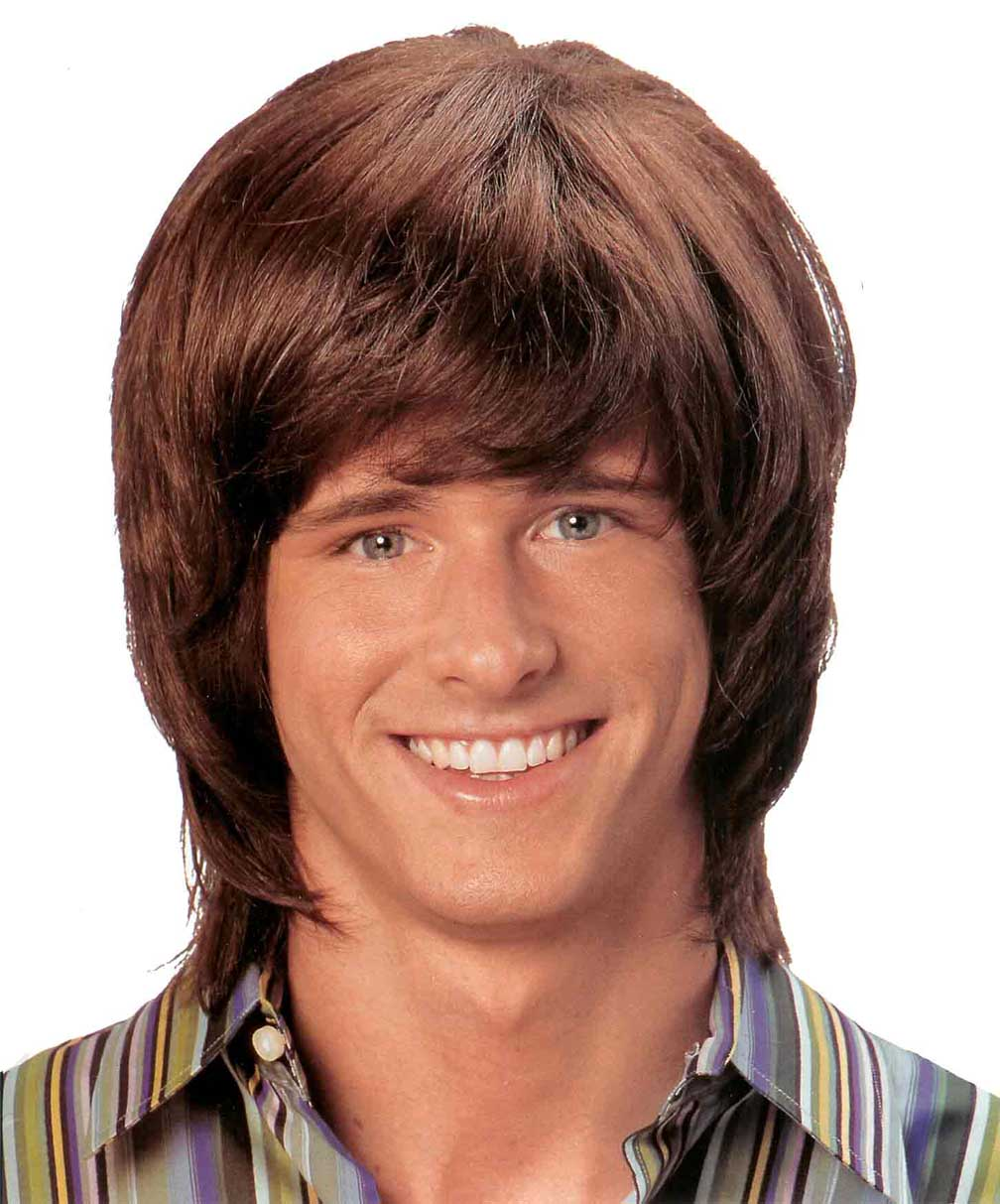 70s Hair Men Cheesy 70's shag wig