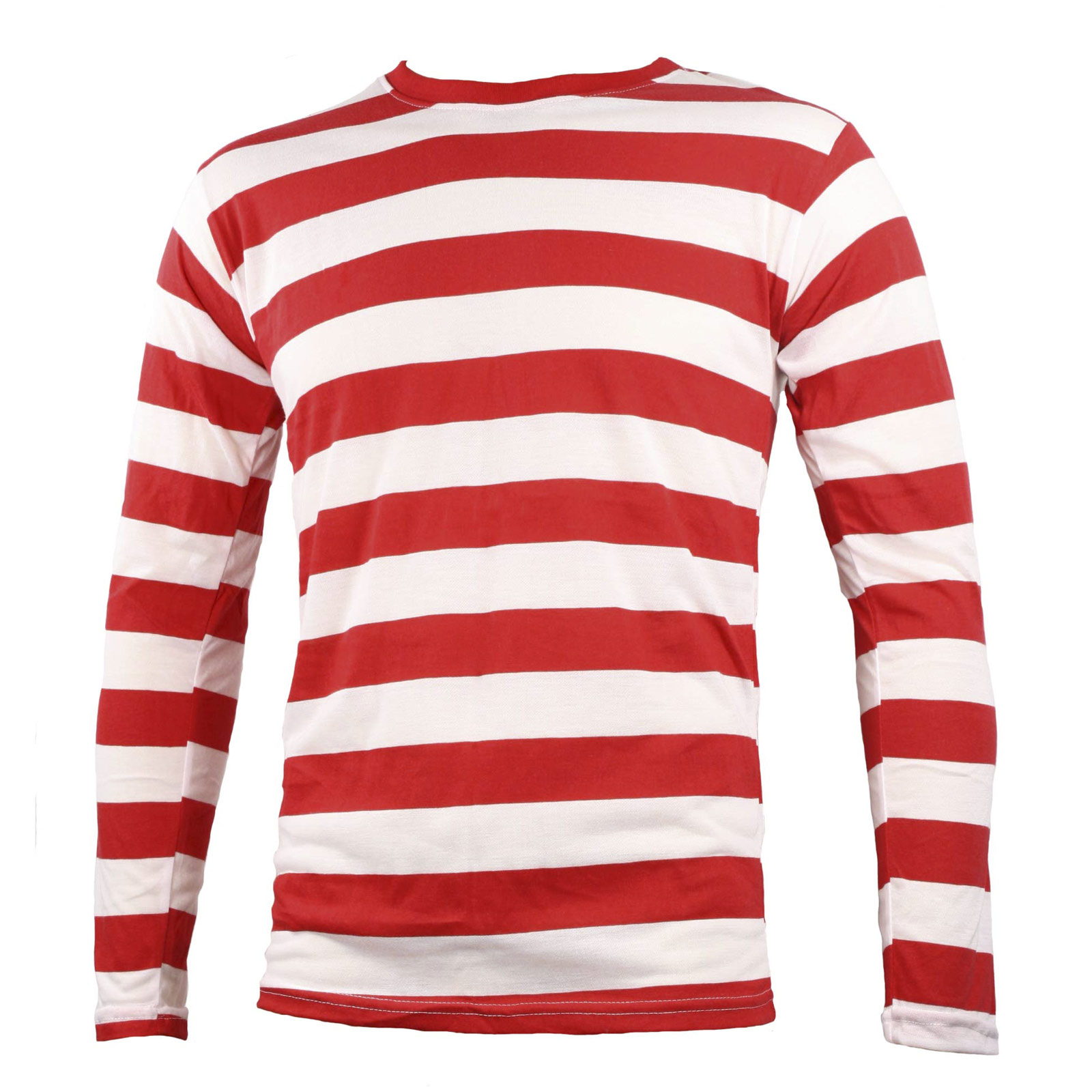 NYC Long Sleeve PUNK Emo mime Stripe Striped Shirt Red White Men& ...