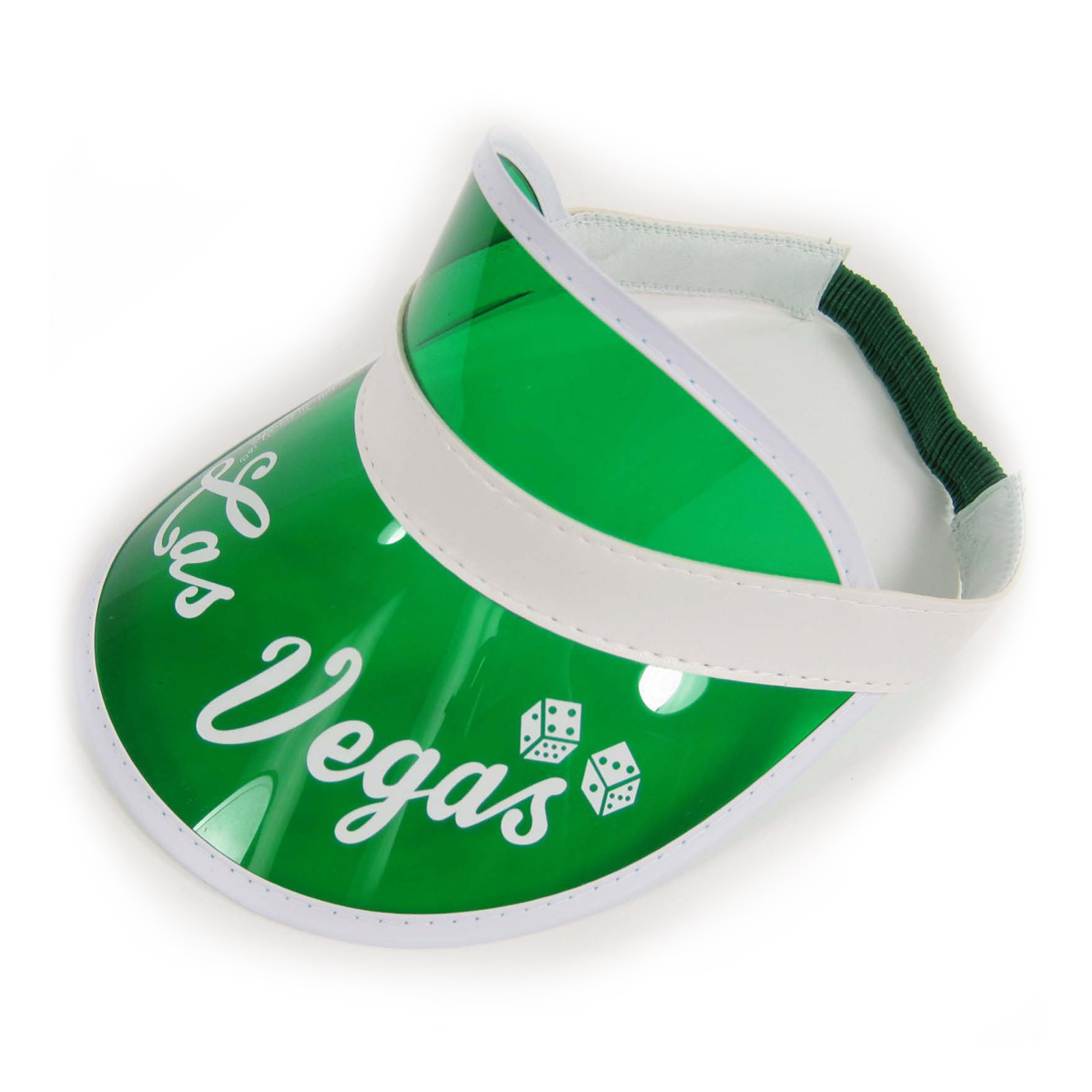 Poker-Dealer-BANKER-Clerk-Visor-Hat-Las-Vegas-Texas-Hold-em-Green