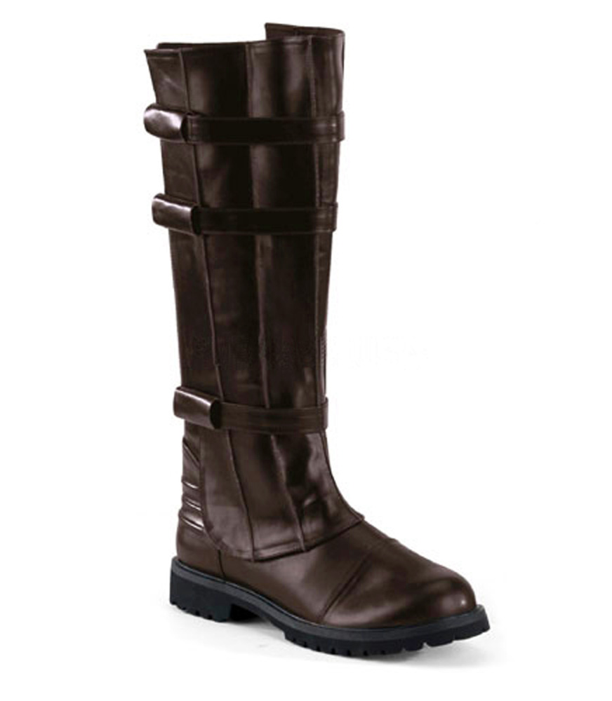 Star-Wars-Jedi-KNIGHT-CAPTAIN-Boots-Western-STEAMPUNK-BROWN-8-9-10-11-12-13-14