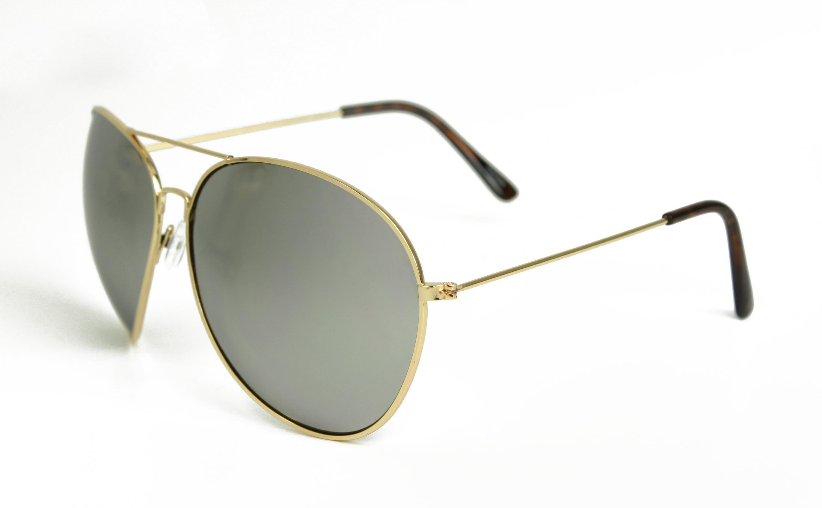 Aviator Sunglasses Gold Frame Mirror Lens : Oversized Extra Large Aviator Sunglasses Mirror Lenses ...