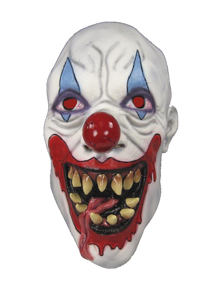 Как сделать страшную маску своими руками клоуна 89