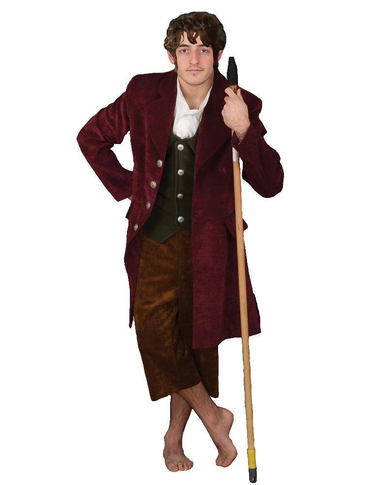 the Hobbit Lord of Rings Elf Costume Bilbo Baggins Jacket ...