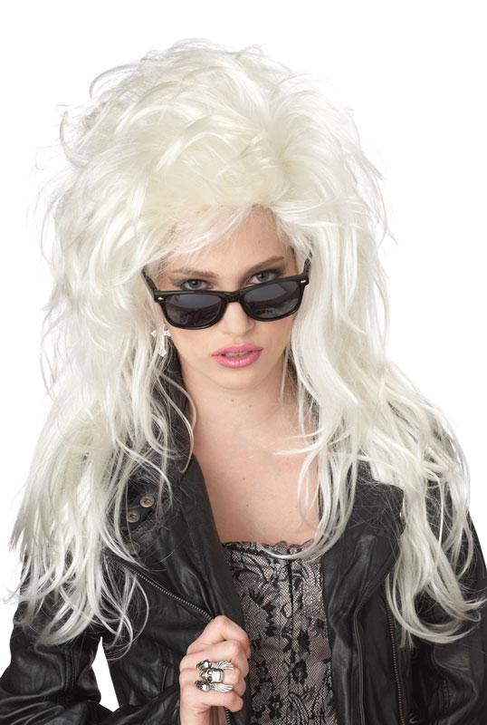 Big Hair Wig Platinum-Blonde