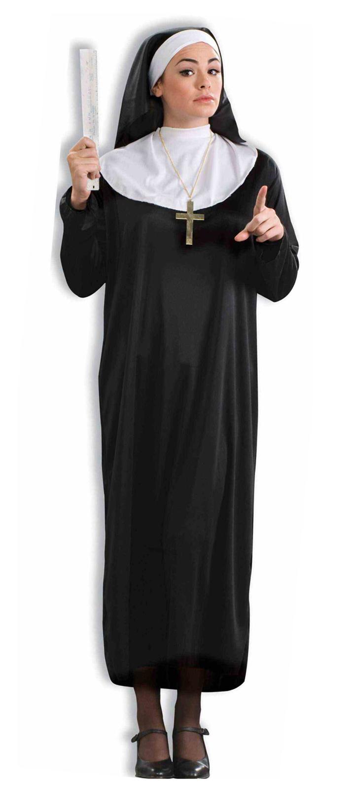 Как сделать головной убор монашки