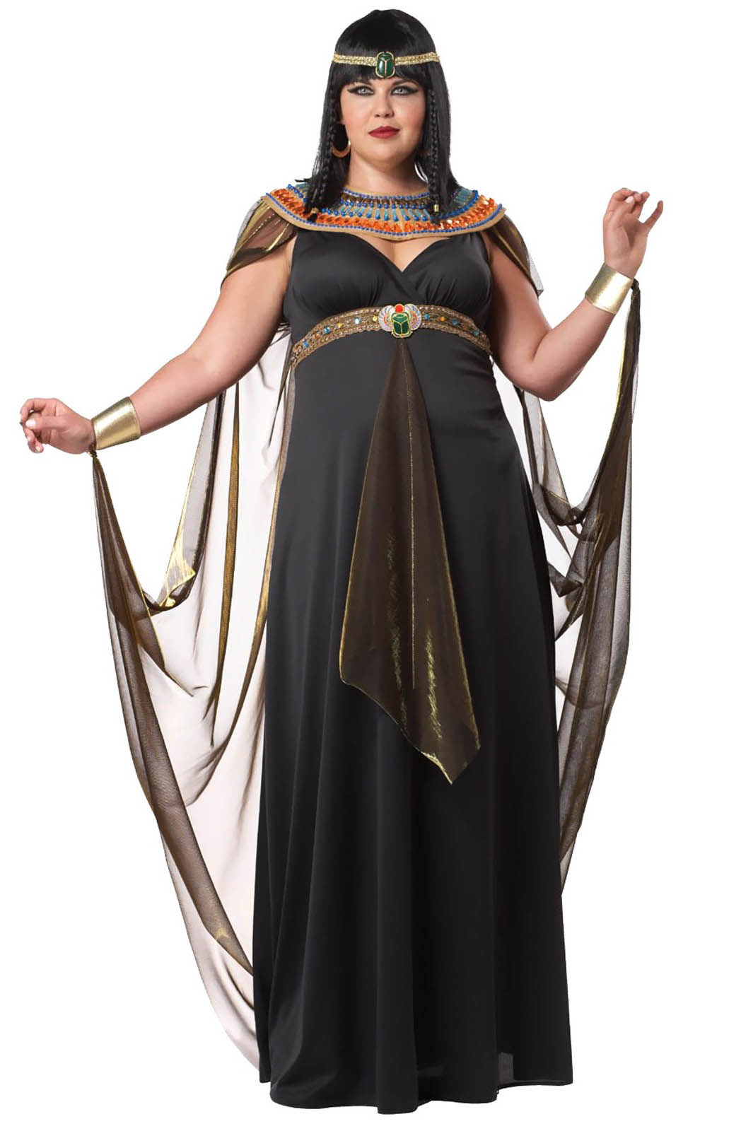 QUEEN Of The Nile Cleopatra Women s Costume Dress Plus Size 1X 2XL 3XL