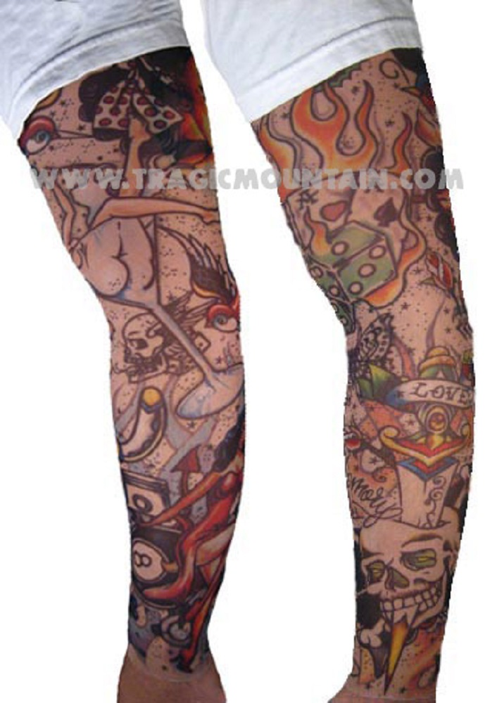 We also have realistic tattoo sleeves!