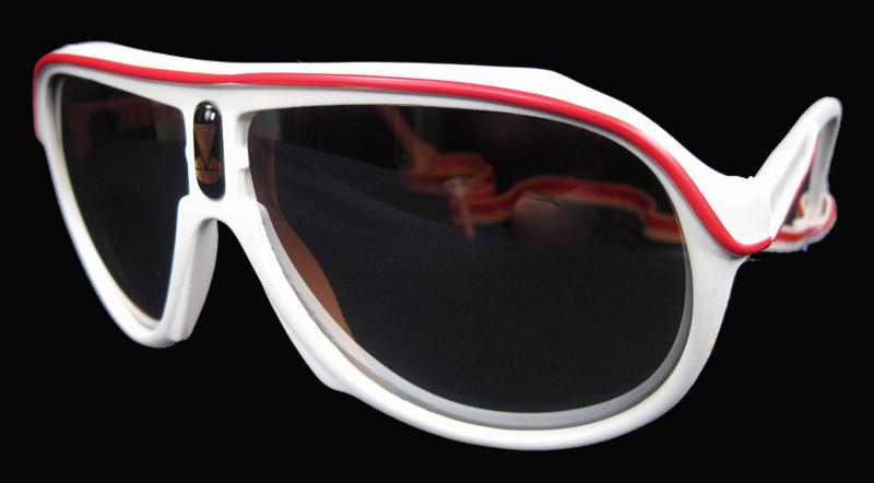 9787b6b92a91 Vintge 80  39 s SKI WHITE goggles Sunglasses w  Strap