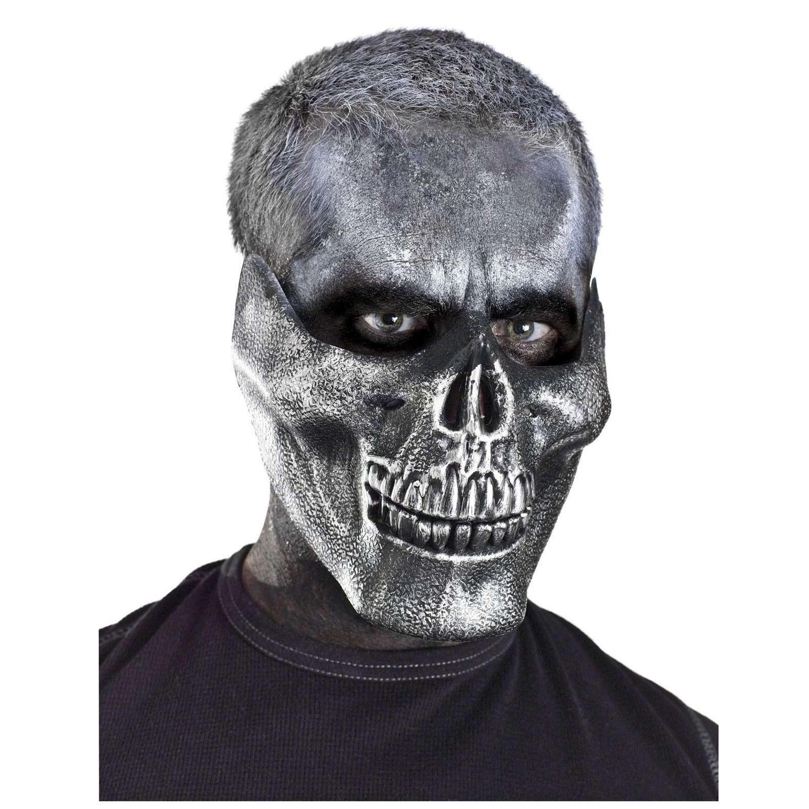 Immortan Joe Skull Mad Max Skeleton Lower Jaw Grim Reaper Mask ...