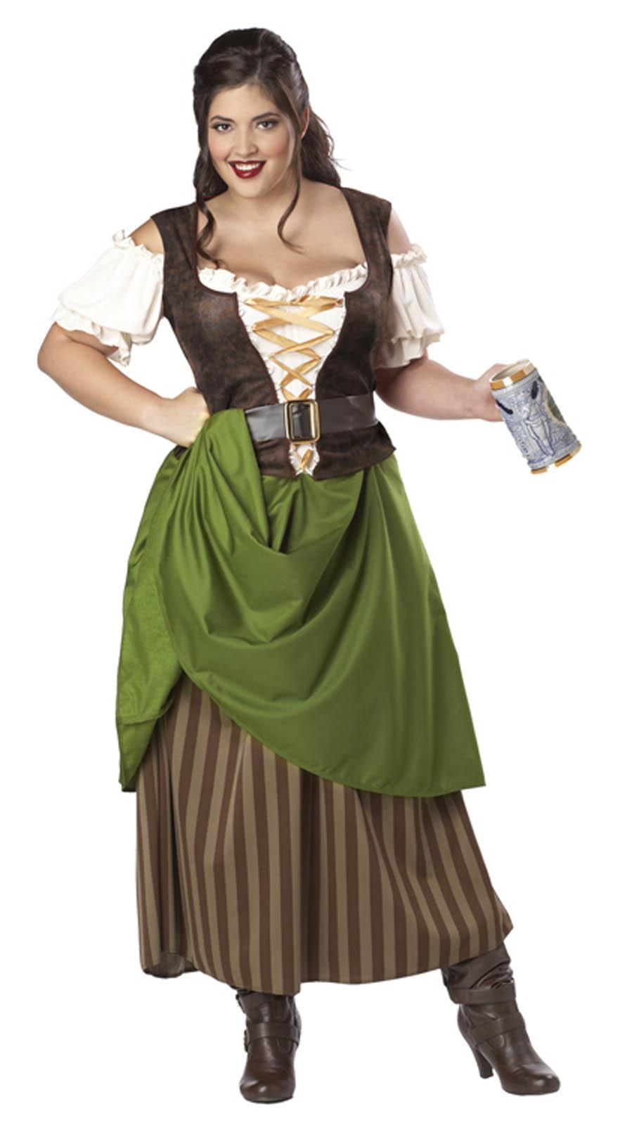 Tavern Maiden Beer Wench PIRATE Adult Womenu0026#39;s Renaissance ...