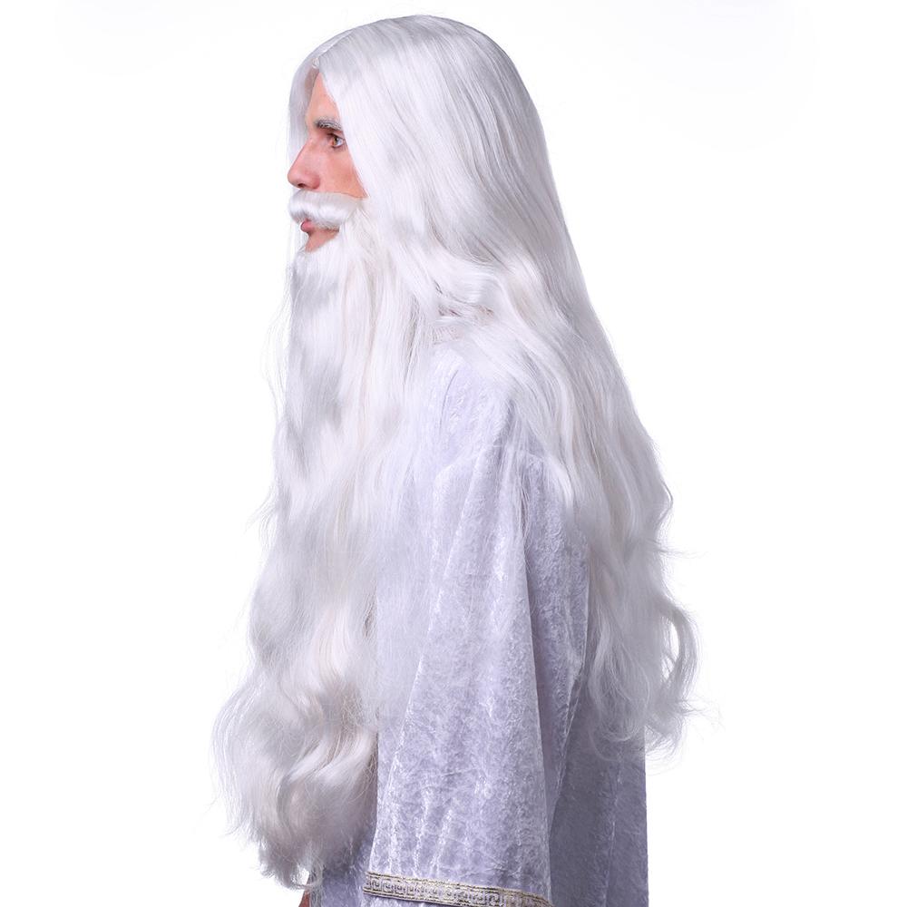 Zeus Wig And Beard 41