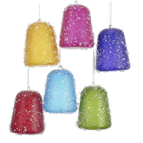 "Christmas Decorations Santa Clarita Ca: Kurt Adler 3.5"" Gum Drops Sugar Sweets Candy Christmas"