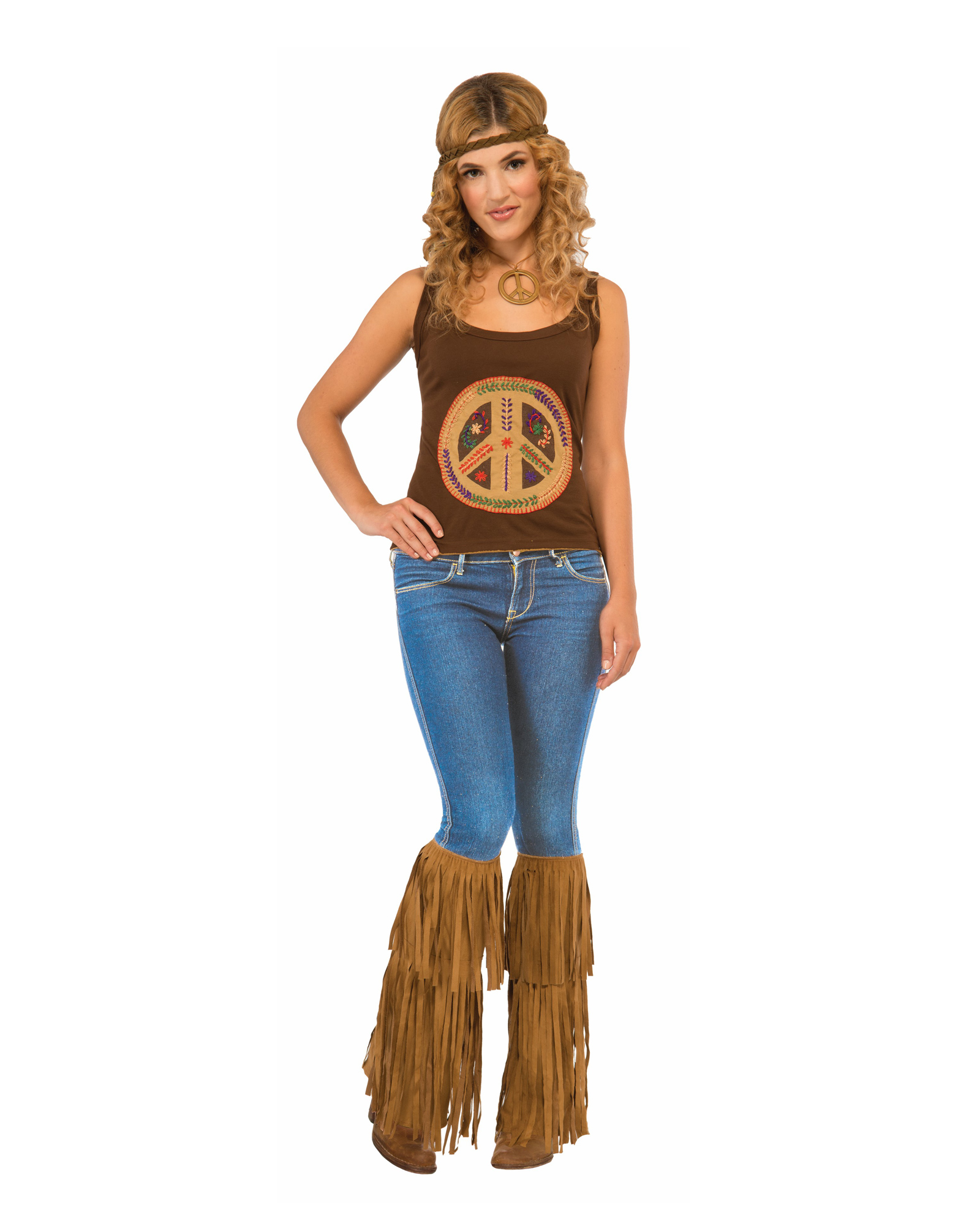 hippie fringe costume boot covers festival woodstock women