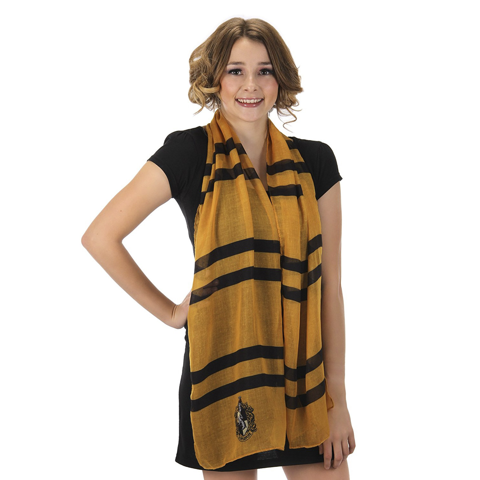 Hufflepuff Lightweight Yellow Scarf Harry Potter Halloween Costume