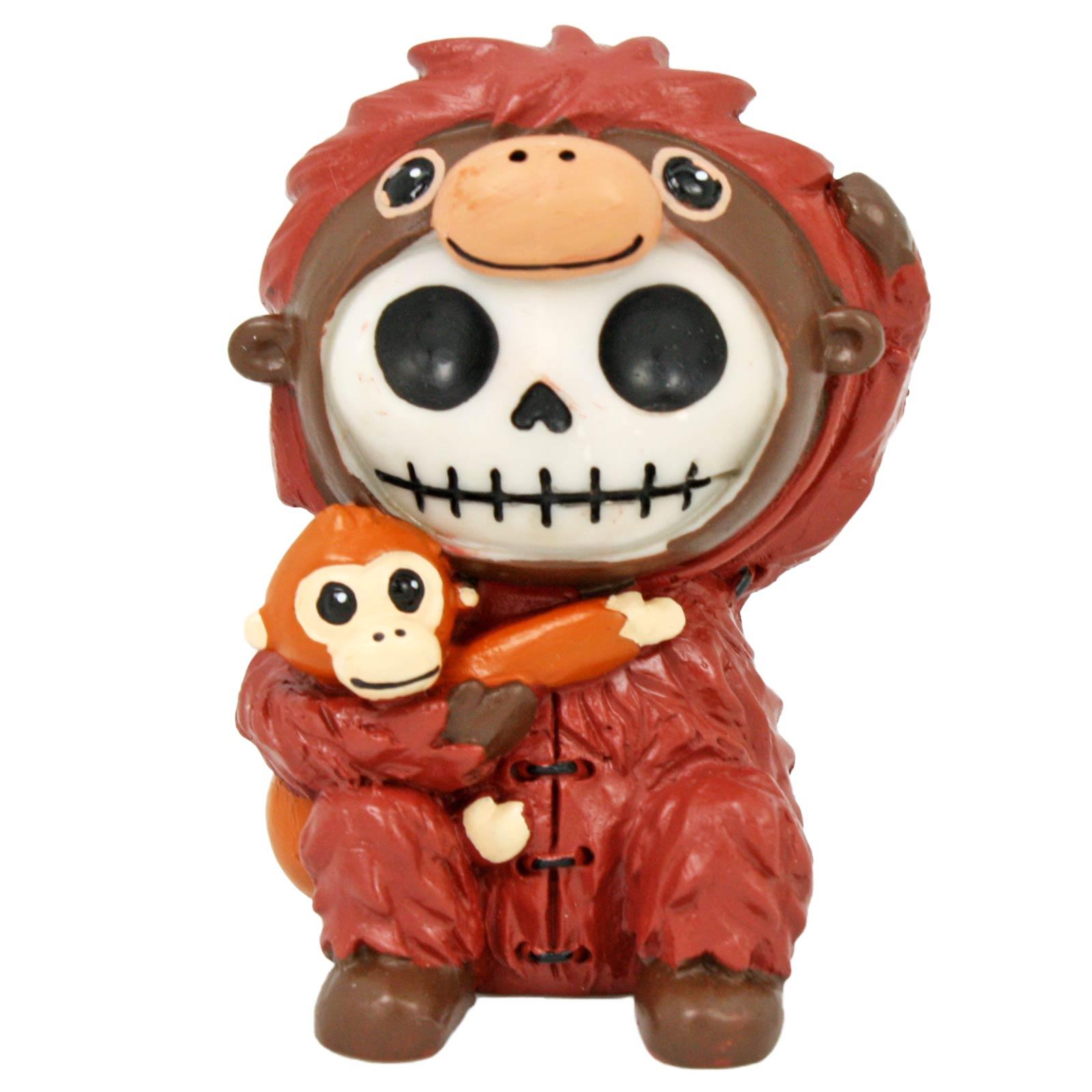 Christmas Decorations Santa Clarita Ca: Resin Furrybones Utan Orangutan Figurine Cute Animal