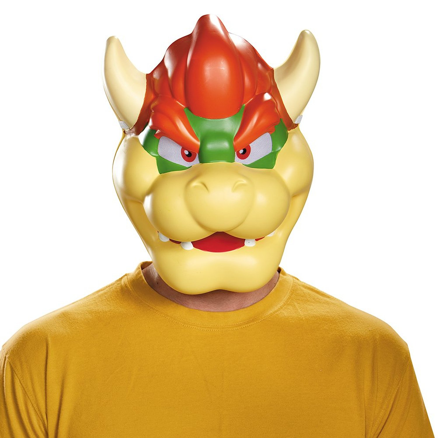 Store Categories  sc 1 st  eBay & Nintendo Super Mario Bros. King Koopa BOWSER Adult Plastic Costume ...