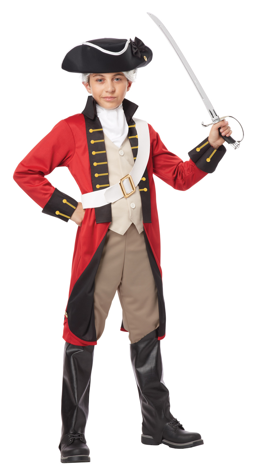 British Red Coat American Revolution Revolutionary War School Play ...