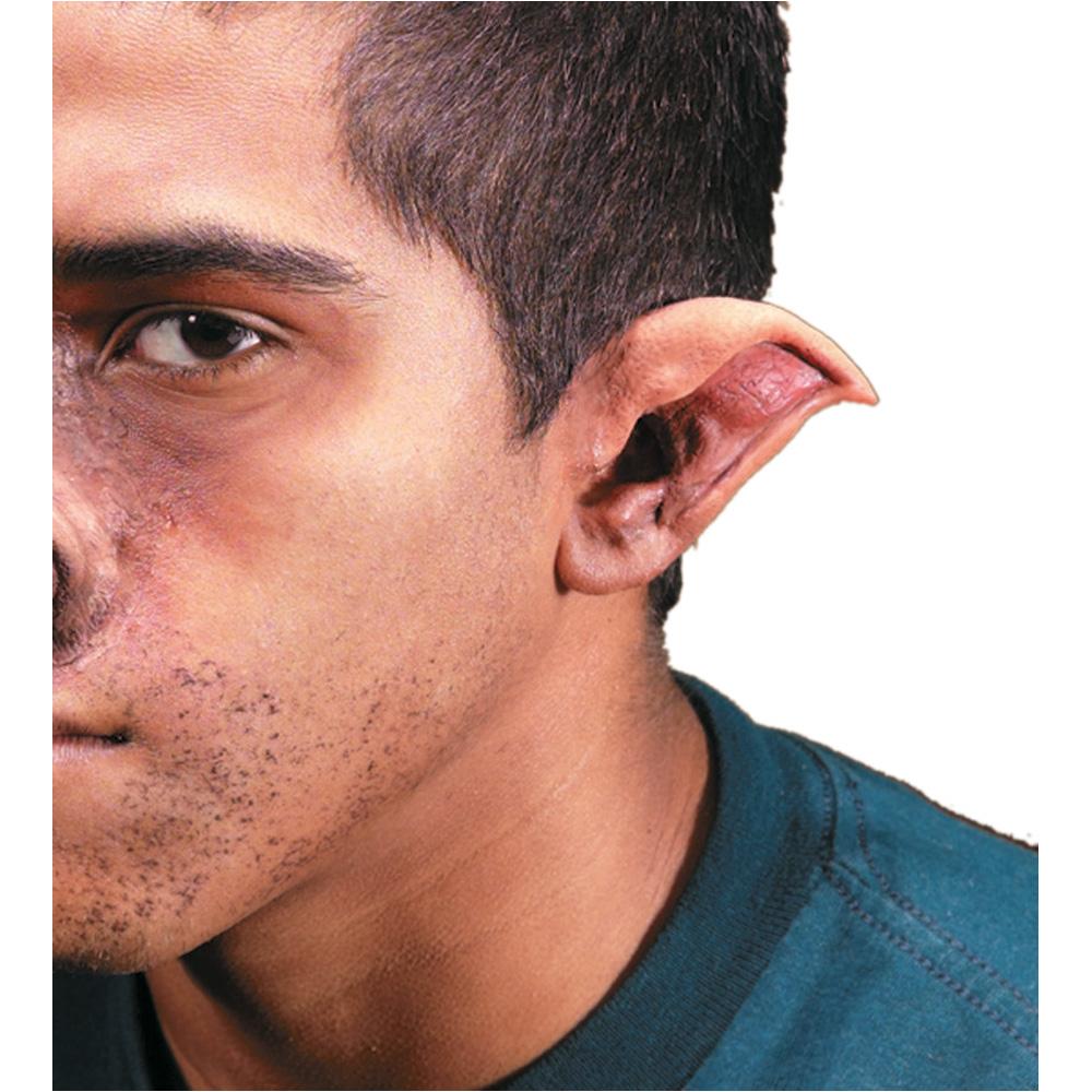 Store Categories  sc 1 st  eBay & Latex Pointed Evil Dark Elf Goblin Demon EARS Costume Cosplay Makeup ...