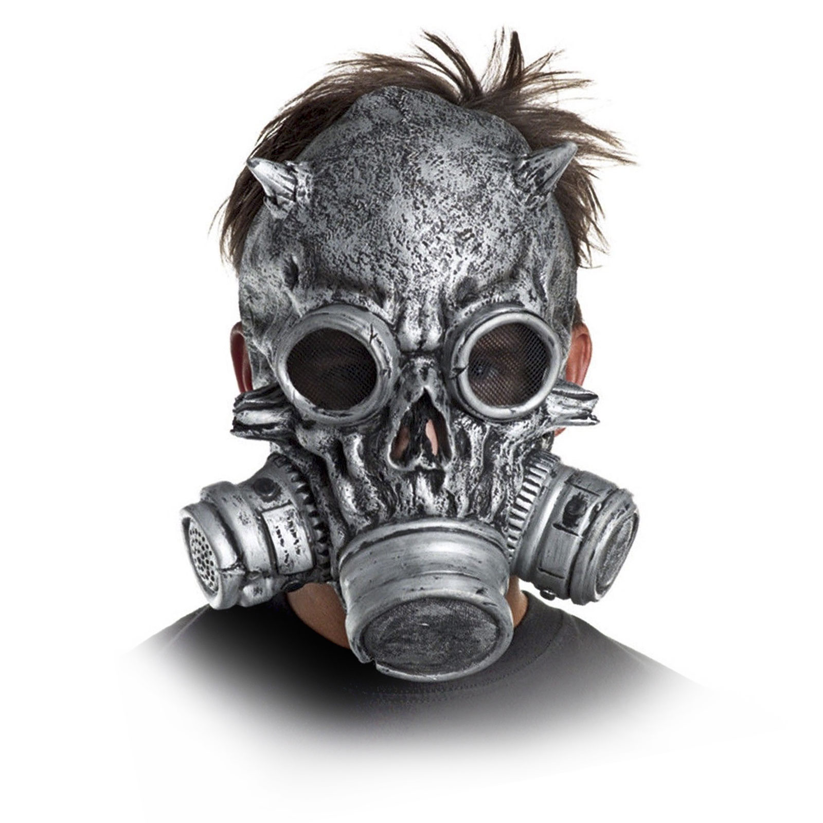 Store Categories  sc 1 st  eBay & SKULL Chemical Biological Warfare Biohazard Costume Gas Mask | eBay