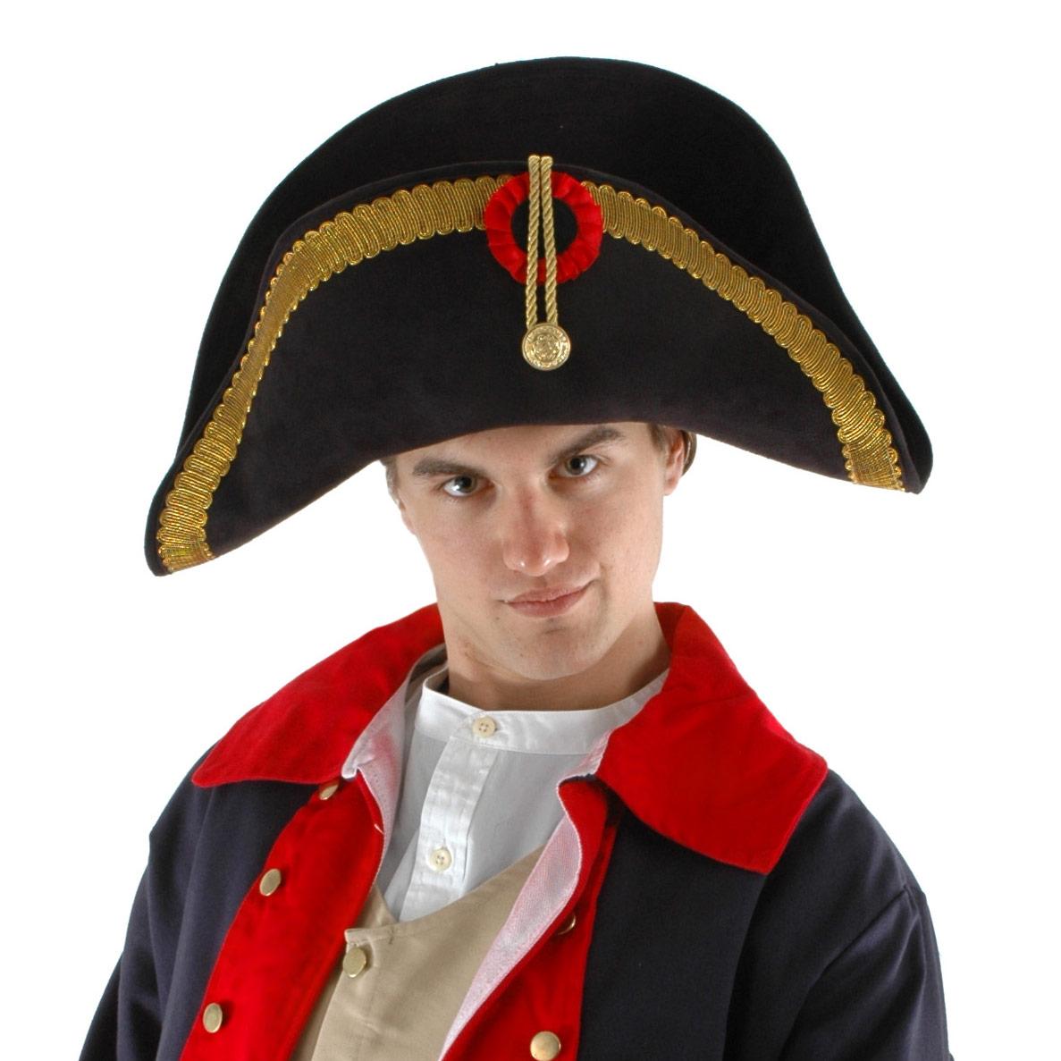 Napoleon Bonaparte French General Military Bicorn Costume