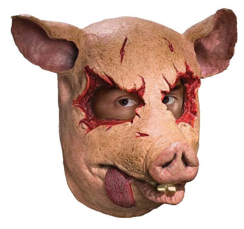 Swine Killer Pig Halloween Costume Mask 82686681391 Ebay